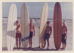 Near Bob Hall Pier 1965 - Conrad Masters, Pete Eldridge, Joe Alley, Steve Neely